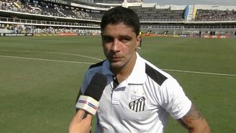 "Renato comemora gol no último lance, feito ""no sacrifício"""