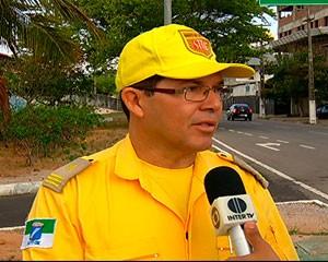 Inspetor Carlos Eugênio, da Semob  (Foto: Reprodução/Inter TV Cabugi)