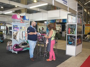 2cc866e21 Além de produtos, expositores também oferecem serviços (Foto: MB  Comunicação/Divulgação)