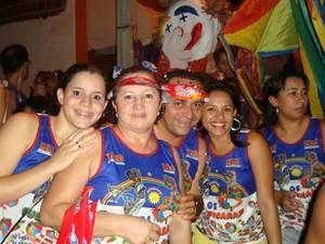Bloco 'Os que ficaram' completa 14 anos de tradição no carnaval de Petrolina, PE. (Foto: Domingos Souza/Arquivo pessoal)
