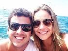 Fernanda Gentil parabeniza marido por aniversário e se declara