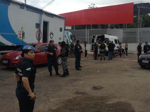 Operação foi deflagrada nesta terça-feira (19), na região central de Boa Vista (Foto: Jackcson Félix/ G1)