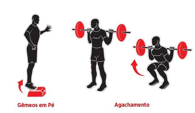 Exercícios joelho 1 (Foto: Alexandre Jurban)
