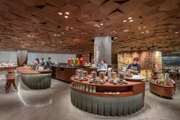 Novo Starbucks em Xangai (Foto: reprodução)