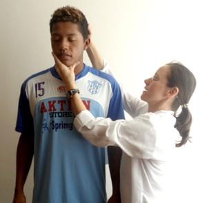 Índio, atacante do Marília, ex-Palmeiras (Foto: Divulgação / Marília AC)