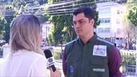 Incêndios já consumiram o equivalente a 117 campos de futebol em Petrópolis, no RJ
