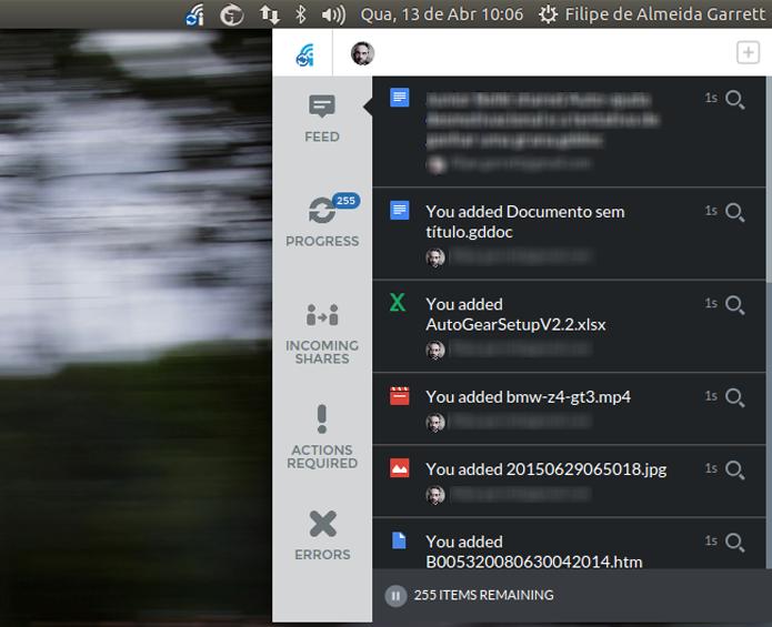 InSync permite sincronizar mais de uma conta do Google Drive no mesmo computador (Foto: Reprodução/Filipe Garrett)