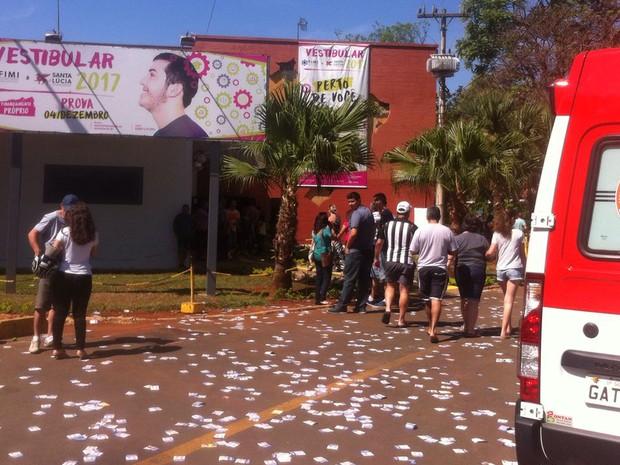 """Caso de """"boca de urna"""" está sendo registrado em Mogi Guaçu (Foto: Everton Zaniboni)"""