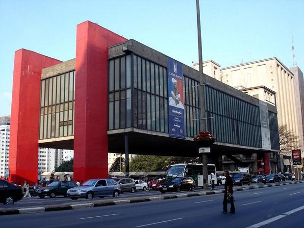 MASP é  o museu mais frequentado de São Paulo, com média de 50 mil visitantes/mês (Foto: Reprodução)