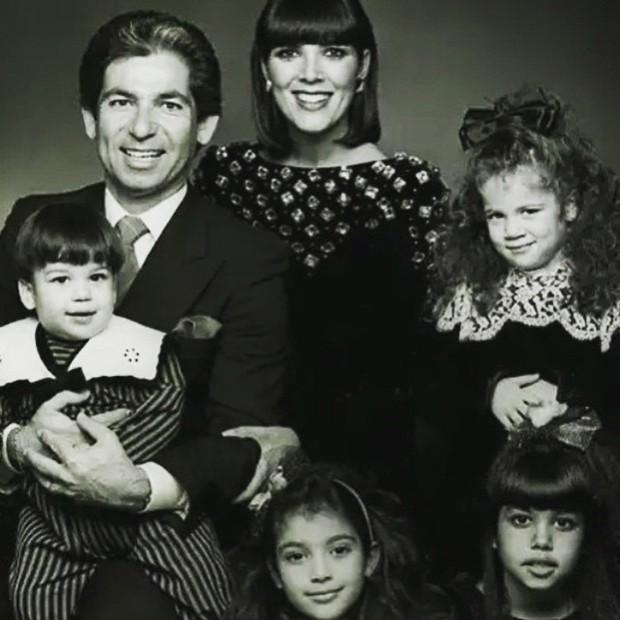 Kris Jenner mostra foto da família (Foto: Instagram / Reprodução)