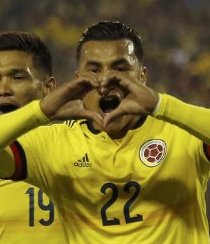 Jeison Murillo Brasil x Colômbia Copa América (Foto: Reuters)
