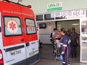 Tentativa de homicídio aconteceu na tarde deste sábado (20), em Mossoró (Foto: Marcelino Neto)