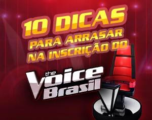 Confira as dicas e mande bem antes de enviar o seu material! (The Voice Brasil/TV Globo)