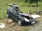 Colisão entre carro e ônibus deixa um morto (Divulgação/Polícia Civil)