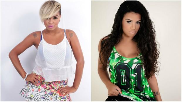 Antes e depois: MC Sabrina (Foto: Amanda Barreto/Divulgação)