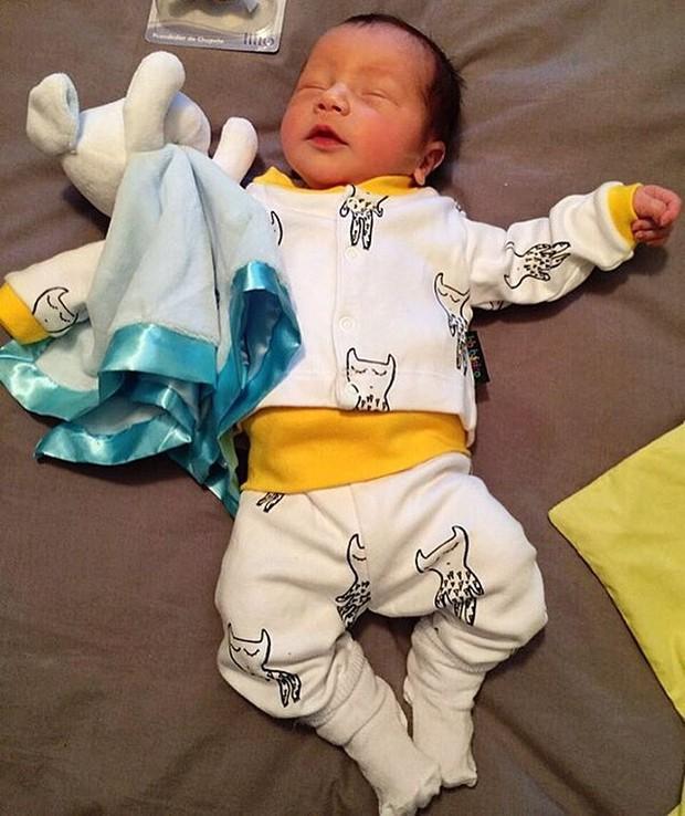 Antônio, filho de Paloma Duarte (Foto: Reprodução / Instagram)