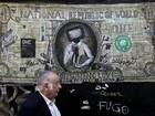 Crise na Grécia em grafites pelo país; FOTOS