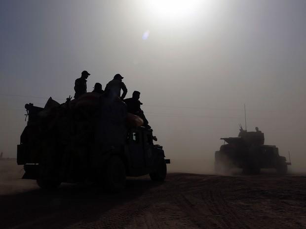 O exército do Iraque deve liderar a ofensiva contra o EI em Mosul, mas não será o único protagonista (Foto: AP Photo/Khalid Mohammed)