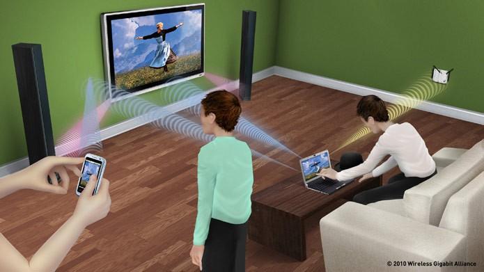 WiFi Direct é a rede formada por dispositivos wireless compatíveis (Foto: Reprodução/Wireless Alliance)