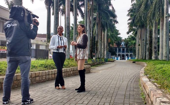 Consultora fala de moda e beleza para mulheres negras no Mistura com Camille Reis (Foto: RBS TV/Divulgação )