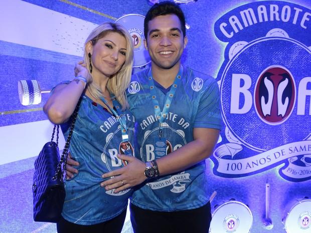 Antonia Fontenelle e Jonathan Costa (Foto: Divulgação / Camarote BOA)