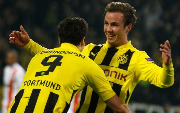Mario Götze, Borussia Dortmund x Shakhtar (Foto: Reuters)
