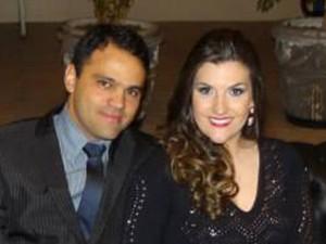 Gabrielli e Fladmy namoram há dois anos (Foto: Arquivo pessoal/ Gabrielli Dala Vechia)