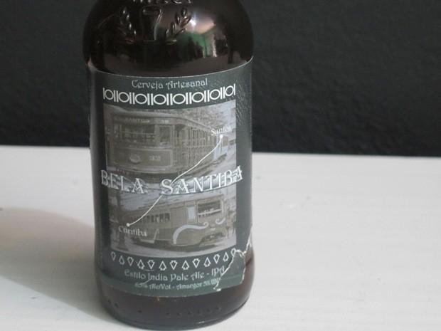 Dupla produziu cerveja em homenagem a Santos e Curitiba (Foto: Guilherme Lucio/G1)
