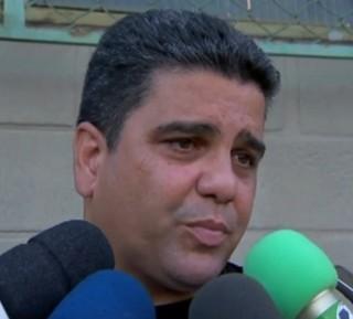 Marcelo Cabo, técnico do Nacional-MG 2014 (Foto: Reprodução / Tv Integração)