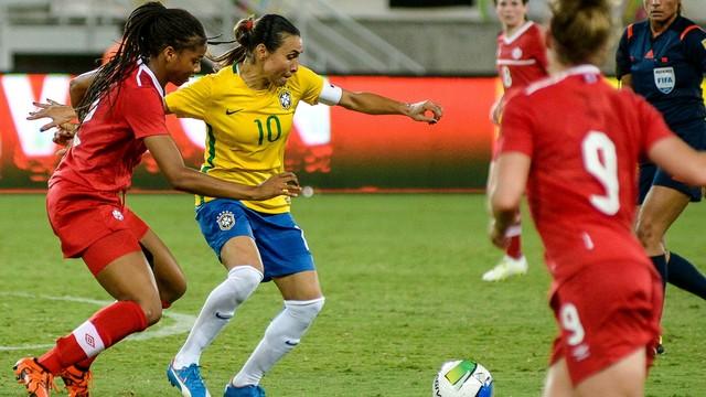 Brasil x Canadá - Torneio Internacional Feminino 2015 - globoesporte.com fa650103f09e5