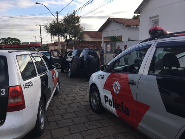 Prisões e apreensões foram feitas durante operação da PM  (Foto: Polícia Militar/ Divulgação)