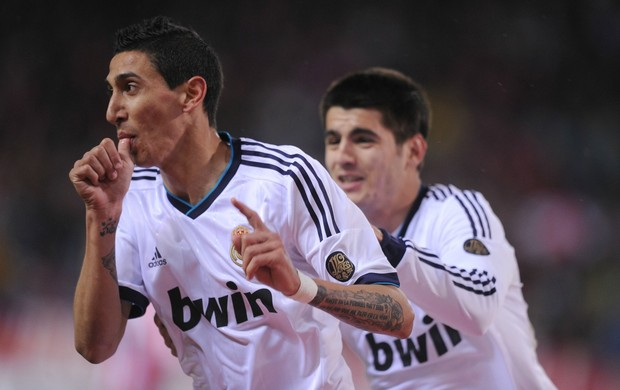 Di Maria Real Madrid Atlético de Madri (Foto: Getty Images)