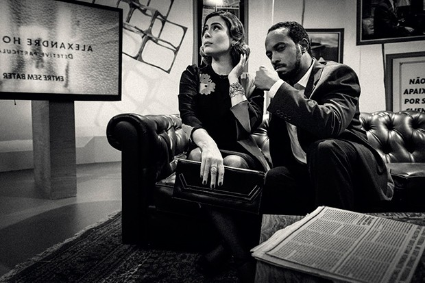 Michelle Loreto e Alexandre Henderson em Como Será? (Foto: Globo/Ramón Vasconcelos)