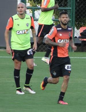 Carlos, atacante do Atlético-MG (Foto: Fernando Martins Y Miguel)