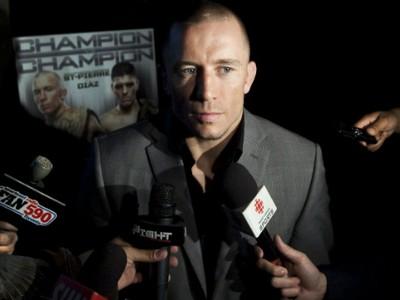 Georges Saint-Pierre lutador do UFC (Foto: Divulgação)