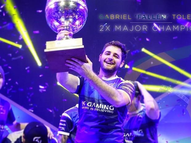 Aos 25 anos, Gabriel 'Fallen' já conquistou o mundo dos games duas vezes (Foto: Arquivo Pessoal/ Gabriel 'Fallen' Toledo)