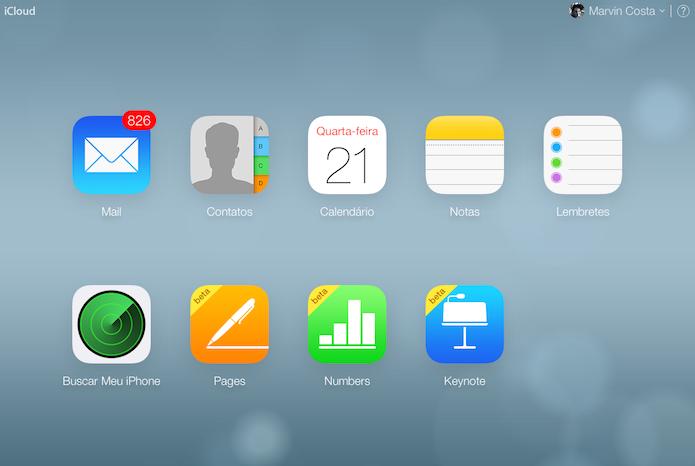 iWork para iCloud aumenta limite de colaboradores e armazenamento (Foto: Reprodução/iCloud)