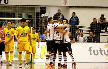 Corinthians vence Assoeva e garante vaga nas quartas de final da LNF