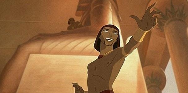 Moisés é adotado pela família do faraó Seth e na fase adulta se torna líder (Foto: Divulgação)
