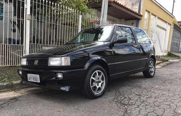 Achado usado Fiat Uno Turbo (Foto: divulgação)