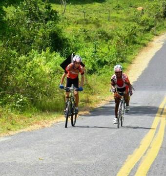 Desafio de Ciclismo na Serra do Tepequém (Foto: Divulgação/FCR)