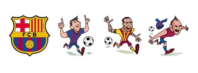O time do craque Messi tem um conjunto só para ele (Foto: Reprodução/Carol Danelli)
