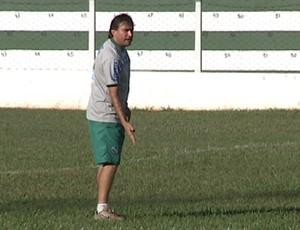 Xandy Marques - técnico Tanabi - time do Túlio Maravilha (Foto: Reprodução / TV Tem)