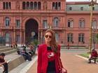 Marina Ruy Barbosa posta foto de viagem pela Argentina