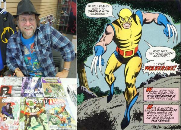 O quadrinista Len Wein e a primeira aparição do personagem Wolverine (Foto: Reprodução)