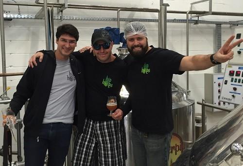 Foto (Foto: Eduardo Costa, Leonardo Rocha e Carlos Emílio Freitas são os sócios da Green Lab)