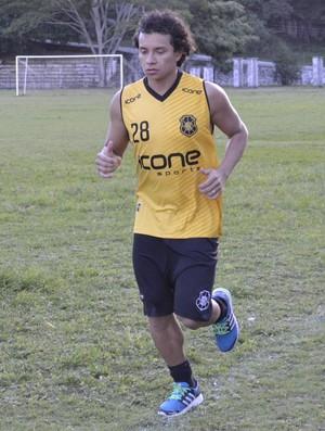 Rodrigo Pardal, atacante do Rio Branco-ES (Foto: Sidney Magno Novo/GloboEsporte.com)