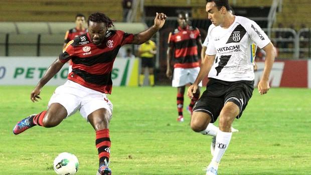 Flamengo x Ponte Preta, Vagner Love (Foto: Fernando Azevedo / Fla Imagem)