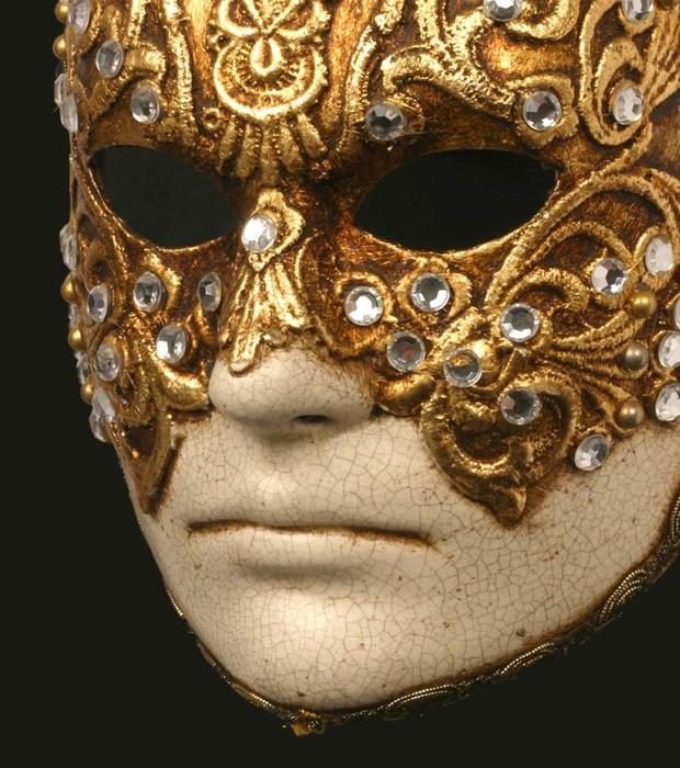 """Máscara usada por Tom Cruise em """"De Olhos bem Fechados"""", de Stanley Kubrick, que faz parte da mostra dedicada ao diretor no Museu da Imagem e do Som (Foto: Divulgação)"""