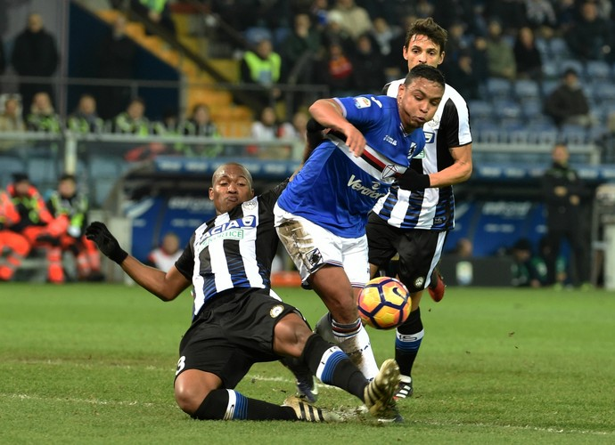 samir, udinese x sampdoria (Foto: Paolo Rattini/Getty Images)